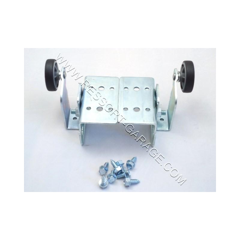 Kit supports galets hauts iso 20 et iso 20rt ressort porte de garage - Galet pour porte de garage basculante ...
