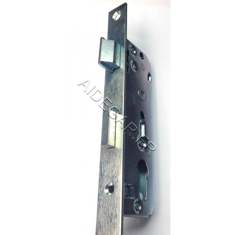 Serrure pour portillon en bois a gauche aidegar for Serrure de portillon exterieur