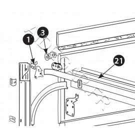 -1- Kit accroche câble haut ISO 20 KIT V2
