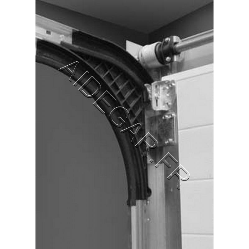 rails courbe en plastique pour portes maeva novoferm. Black Bedroom Furniture Sets. Home Design Ideas