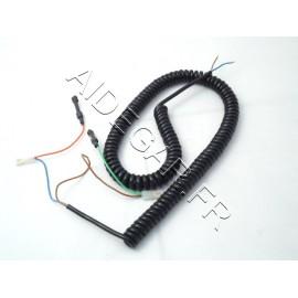 Cordon spirale noir novoporte 1