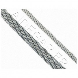 Câble 3mm acier galvanisé