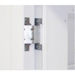 Paumelle invisible ISO 45 portillon