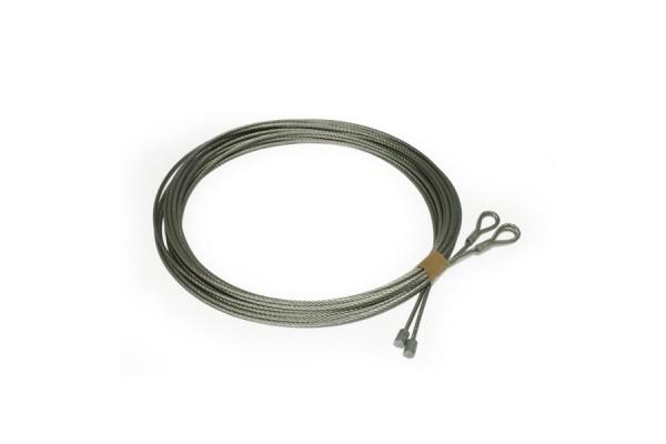 Vente en ligne de cables acier pour portes de garage for Poulie pour porte de garage