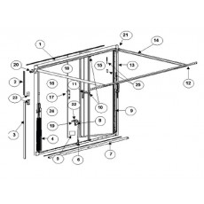 vente en ligne de pi ces d tach es pour porte delliso. Black Bedroom Furniture Sets. Home Design Ideas