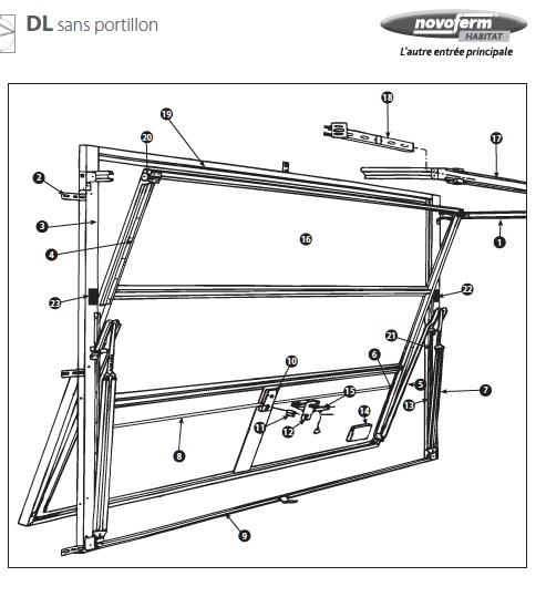 vues clat es novoferm ressort porte de garage. Black Bedroom Furniture Sets. Home Design Ideas